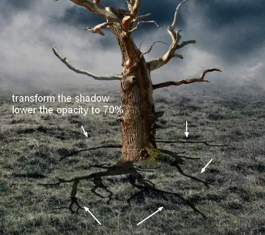 Иллюстрация дерева с лунами 18