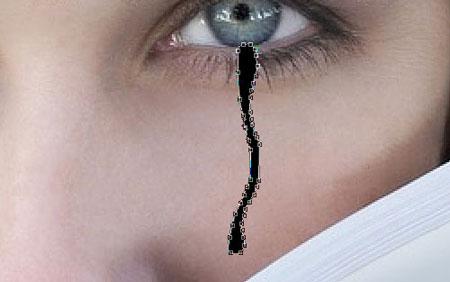 Рисуем слезы 2