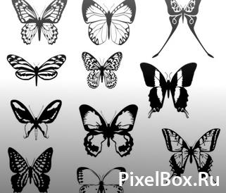 Фигура - Бабочки