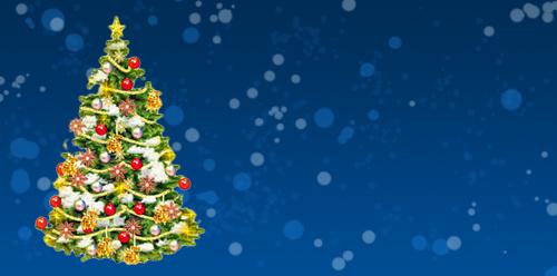 Новогодняя открытка 2011 в Photoshop 8