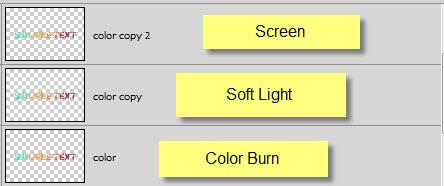 Текстовый эффект с абстрактной цветовой схемой 21