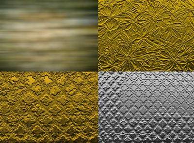 Текстуры из золота и серебра 1