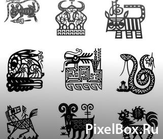 Фигура - Пиктограммы животных