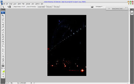 Огни ночного города 4