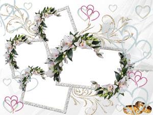 Рамка для фотографии - свадьба 1