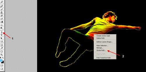 Абстрактный эффект фотография 13