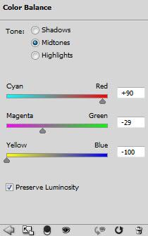 Текстовый эффект с абстрактной цветовой схемой 23