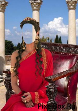Рамка для фотографии - греческая богиня 1