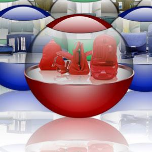Стеклянные шары 6