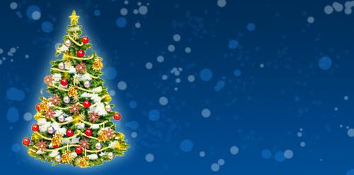 Новогодняя открытка 2011 в Photoshop 10