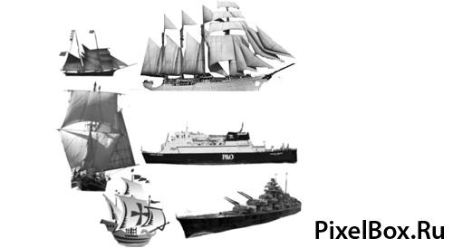 Кисти корабли 1