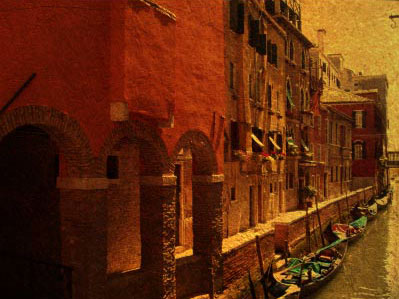Старая Венеция - работа с фотографией 1