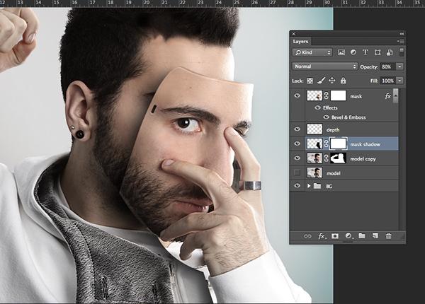 Маска из своего лица на фото 48
