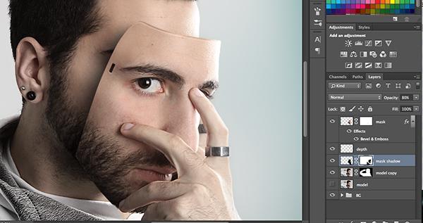 Маска из своего лица на фото 49