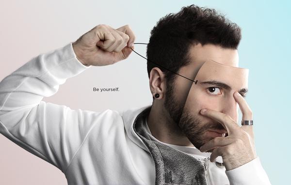 Маска из своего лица на фото 1