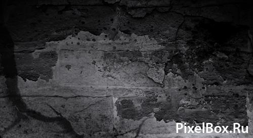 Подборка кистей в виде стен и трещин 1