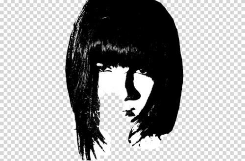 Портрет в стиле grunge (гранж) 4