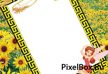 Рамка для фотографии - С цветами 1