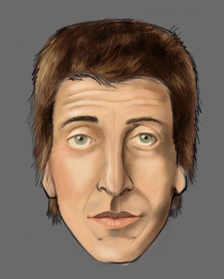 Рисуем лицо в фотошопе 22