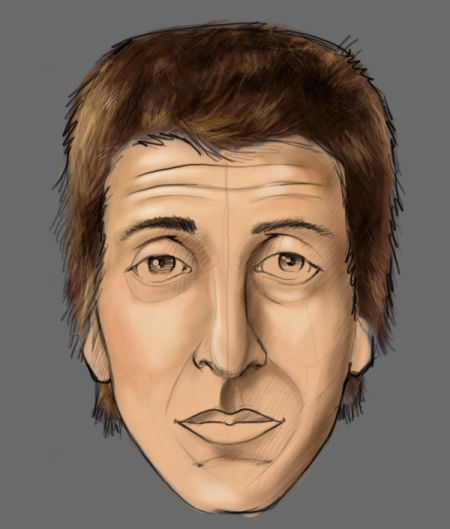Рисуем лицо в фотошопе 11