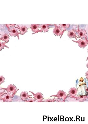 Рамка для фотографии - Ангелочек 1