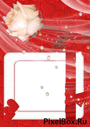 Рамка для фотографии - Романтическая 1