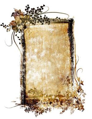 Рамка для фотографии - винтаж 1