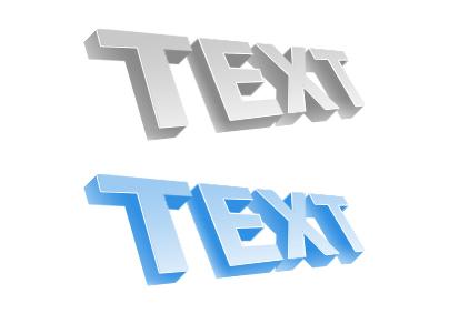 3d текст в фотошопе 1