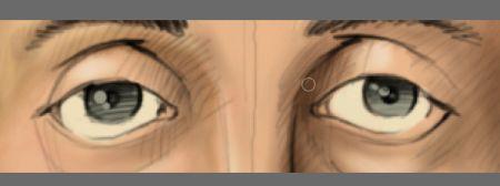 Рисуем лицо в фотошопе 12