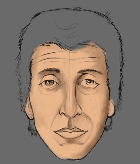 Рисуем лицо в фотошопе 5