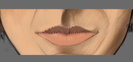 Рисуем лицо в фотошопе 20