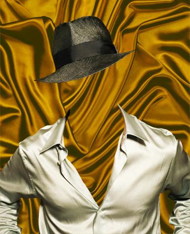 Шаблон для фото - В шляпе 1