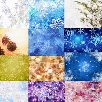 Текстура с новогодними темами 1