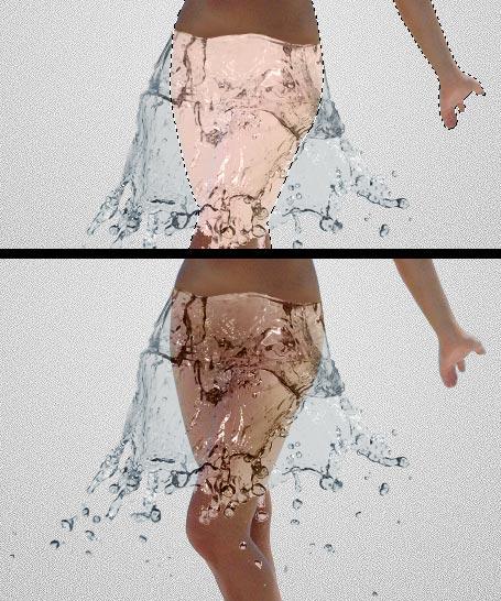 Вода в фотошопе 8