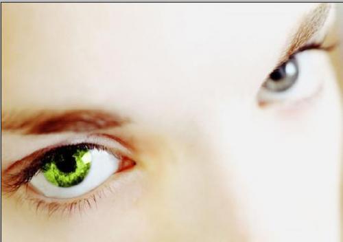 Меняем цвет глаз 4