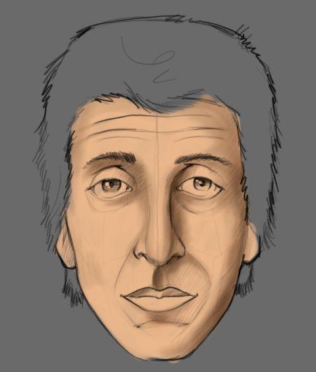 Рисуем лицо в фотошопе 6