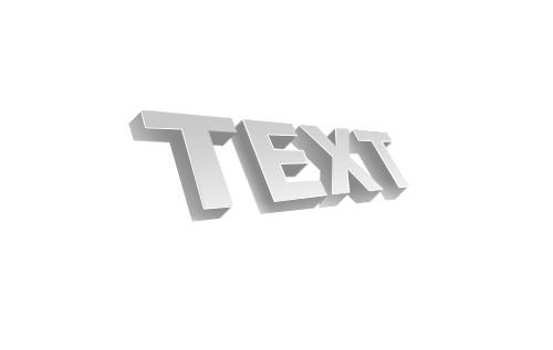 3d текст в фотошопе 8