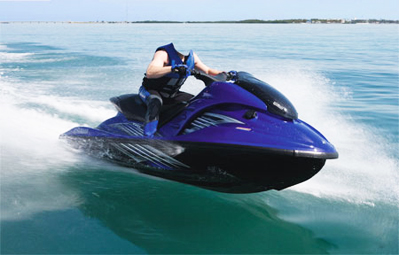 Шаблон для фото - Водный мотоцикл 1