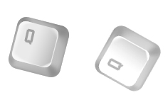 Урок фотошопа - клавиатурная кнопка 1