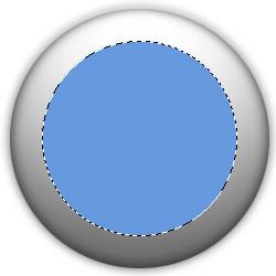 Рисование кнопки для интерфейса 3