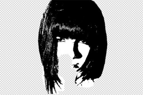 Портрет в стиле grunge (гранж) 5