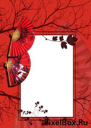 Рамка для фотографии - Сакура 1