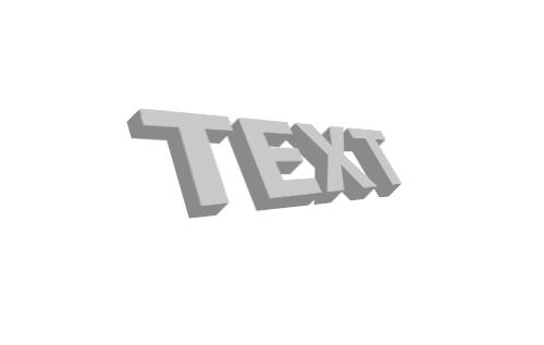3d текст в фотошопе 5