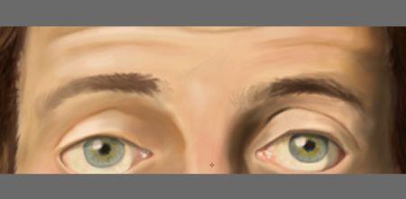 Рисуем лицо в фотошопе 25