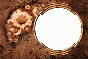 Рамка для фотографии - ретро стиль 1