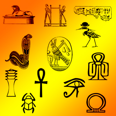 Египетские знаки 1