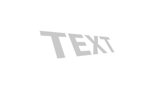 3d текст в фотошопе 3