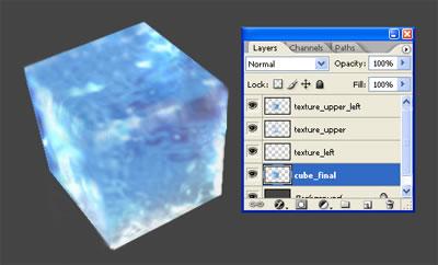 3d куб из льда 11