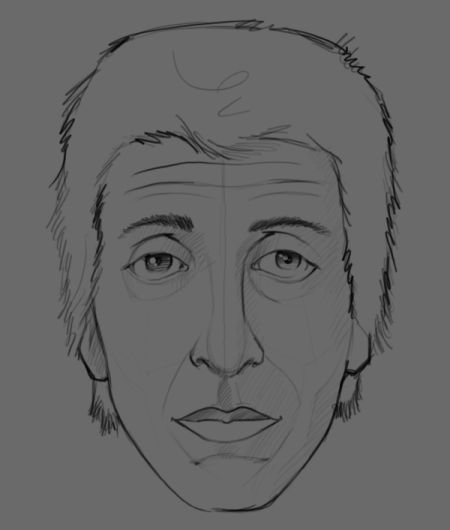 Рисуем лицо в фотошопе 3