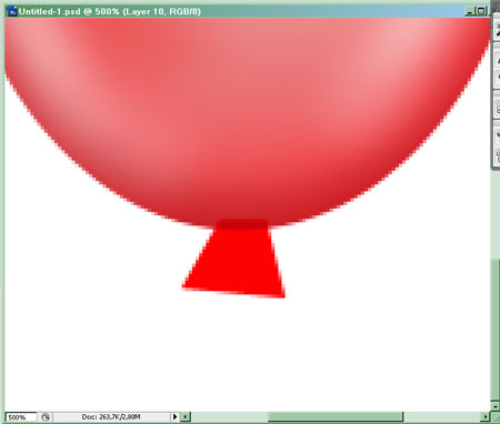 Воздушный шар 8